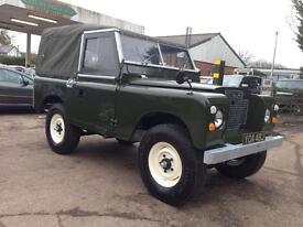 Land Rover Series II 2a SWB 2.25 petrol Soft Top (green) 1971