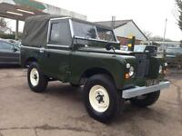 Land Rover Series II 2a SWB 2.25 petrol Soft Top (green) 1971