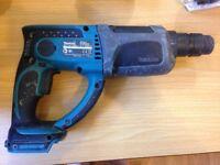Makita 18v SDS drill