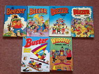 Beezer, Buster and Whoopee! Annuals
