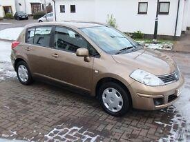 2009 Nissan Tiida 1.6 5 Door Hatchback Manual Only 21k Miles (Micra/Corsa/Fiesta/Astra)