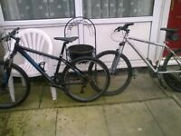 2 carrera mountainbikes forsale or swop