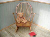 Stunning Ercol Blonde Rocking Chair