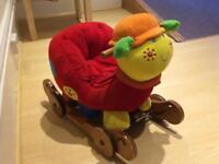 Caterpillar ride on toy