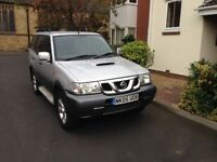 NISSAN TERANNO 2.7 TDI 4x4 SEVEN SEATS ESTATE ONE OWNER