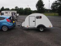 Teardrop Caravan / Teardrop Trailer / Sleeping Pod / Camping Pod IVA TESTED