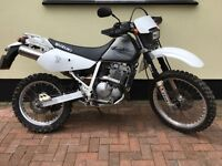 Suzuki DR250 road/ enduro/ green lane. Road miles only with current owner 12 mths mot