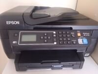 Almost brand new WiFi-EPSON WF-2750 printer/scanner/fax