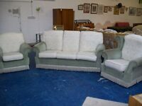 **FREE** 3 piece suite, 1 x 3 seater and 2 x 1 seater (#19)