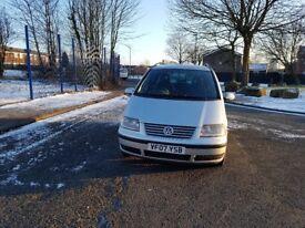 Vauxhall Sharan 7 seater automatic