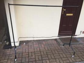 Clothing rail heat duty 170 cm