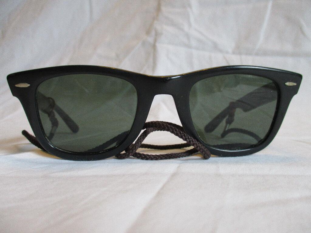 Sunglasses Gumtree Usa Original Genuine Ban Bauschamp; 1980s 5024 Black Ray Wayfarer Lomb TottenhamLondon VgcIn Vintage TK1lJ3Fc
