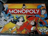 Marvel dc monopoly