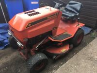 WESTWOOD 1012 SIT ON LAWNMOWER EXCELLENT WORKING ORDER