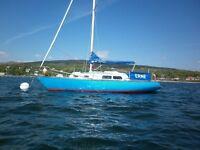 Elizabethan sailing yacht