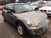 MINI Hatch 1.6 Cooper London 12 3dr£5,995 p/x welcome 1 YEAR FREE WARRANTY. NEW MOT