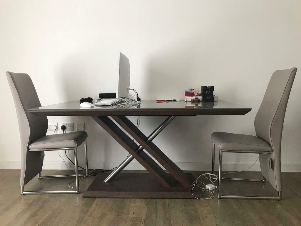 big sale 7fcd0 66596 DFS Marteni dining table + 4 chairs | in London | Gumtree