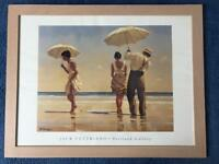 Picture Frame Light Beech with Jack Vettriano picture