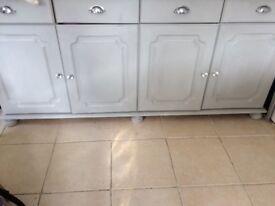 Grey Wooden Shabby Chic Dresser