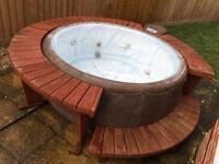 Softub hot tub jaquzzi