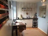 Room available for self-employed Beauty Therapist/Physio/Podiatrist in a busy hairdressing salon