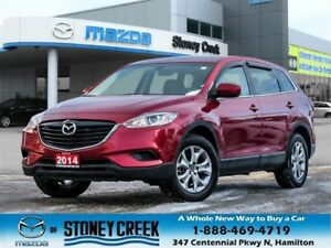 2014 Mazda CX-9 GSL AWD 7 Seater Lether NAV Keyless Accid Free!