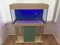 Marine / Tropical Fish Tank and Unit