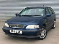1998 VOLVO V40, ESTATE, 2.0 ENGINE, LONG MOT & 1 PREVIOUS OWNER