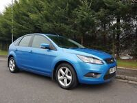 2010 FORD FOCUS ZETEC 1.6 100BHP 5DOOR LOVELY LOW MILEAGE EXAMPLE MUST BE SEEN ( FINANCE AVAILABLE )