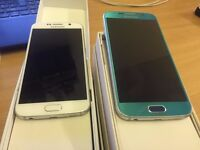 Samsung galaxy s6 32gb unlocked boxed **6 months warranty ****