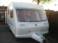 for sale fleet wood bali 2001 2 berth with full awning
