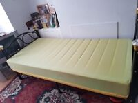 Single bed with mattress for sale £80