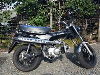 Kepspeed Zeths Hunter 125cc, 2015 Honda Dax ST replica (Monkey bike)