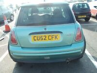 mini one,2002, nice drive,family owned with mot