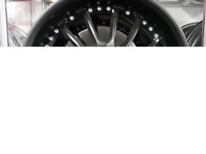 18 INCH NEW MATTE BLACK RIMS - DEEP DISH MULTI SPOKE - NEW RIM SALE
