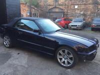 """BMW 17"""" 7 SPOKE ALLOY WHEELS 5x120 E46 E36"""