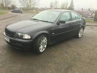 VERY GOOD CONDITION BMW 320I ONE YEAR MOT FOR SALE £999