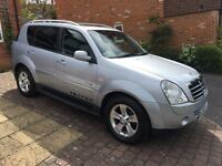 2010 Ssangyong Rexton SPR 2.7, MOT Until Dec2017, Full Service History From New