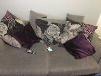 3 seater sofa & cuddle chair