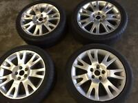 "Reno 17"" alloy wheel for sale set of 4 £120 call 07860431401"
