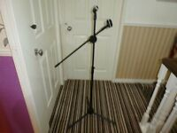 MICROPHONE STAND.
