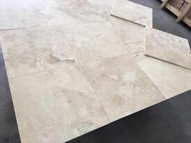 Polished marble tiles Diana royal 457x457x12