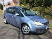 Ford Focus C-Max 1.8i Ghia with FSH & long MOT !