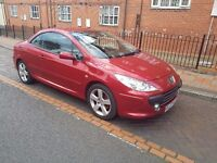 2007 Peugeot 307 cc 2.0 Hdi 136 bhp Coupe Sport