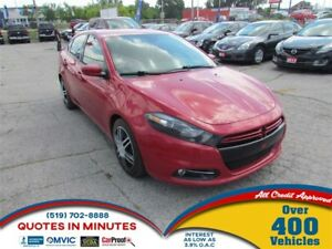 2013 Dodge Dart RALLYE | TURBO | STYLISH INTERIOR | SAT RADIO