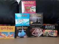 Harry Potter Audio books on CD, books 1 to 7 read by Stephen Fry.