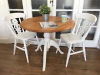 FRESHLY RESTORED Vintage TABLE AND CHAIRS FREE DELIVERY LDN🇬🇧🇬🇧