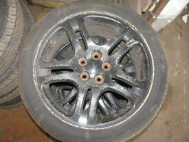 "Impreza WRX 17"" Alloy Wheels & Tyres"