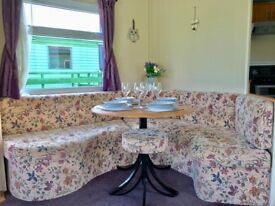 😃😃😃STUNNING 3 BED CARAVAN ON THE WEST COAST OF SCOTLAND😃😃😃