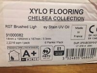 Premium hardwood XYLO flooring + underlay (7 sqm)